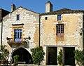 Monpazier - Maisons place des Cornières côté ouest 25-27-29 -399.JPG