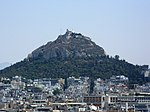 Mount Lycabettus, Athens, Greece.