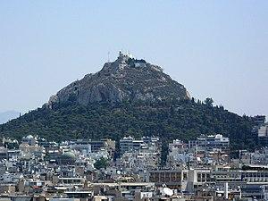 Mount Lycabettus, Athens, Greece.