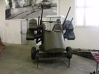 M45 Quadmount American machine gun mount