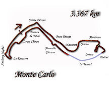 Circuit de Monaco (last modified in 1998)
