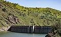 Monticello Dam Lake Berryessa Putah Creek Vaca Mountains California (25887113442).jpg