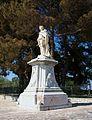Monument a Johann Matthias von der Schulenburg a Corfú.JPG
