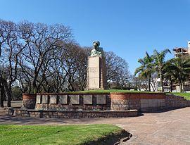 Monumento a Florencio Sánchez en el Parque José Enrique Rodó de Montevideo.