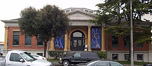 Humboldt Arts Council - Image: Morris Graves Museum Carnegie Library Building