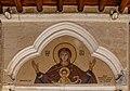 Mosaic above the entrance - Church of Virgin Mary of Chrysopolitissa, Larnaca, Cyprus 08.jpg