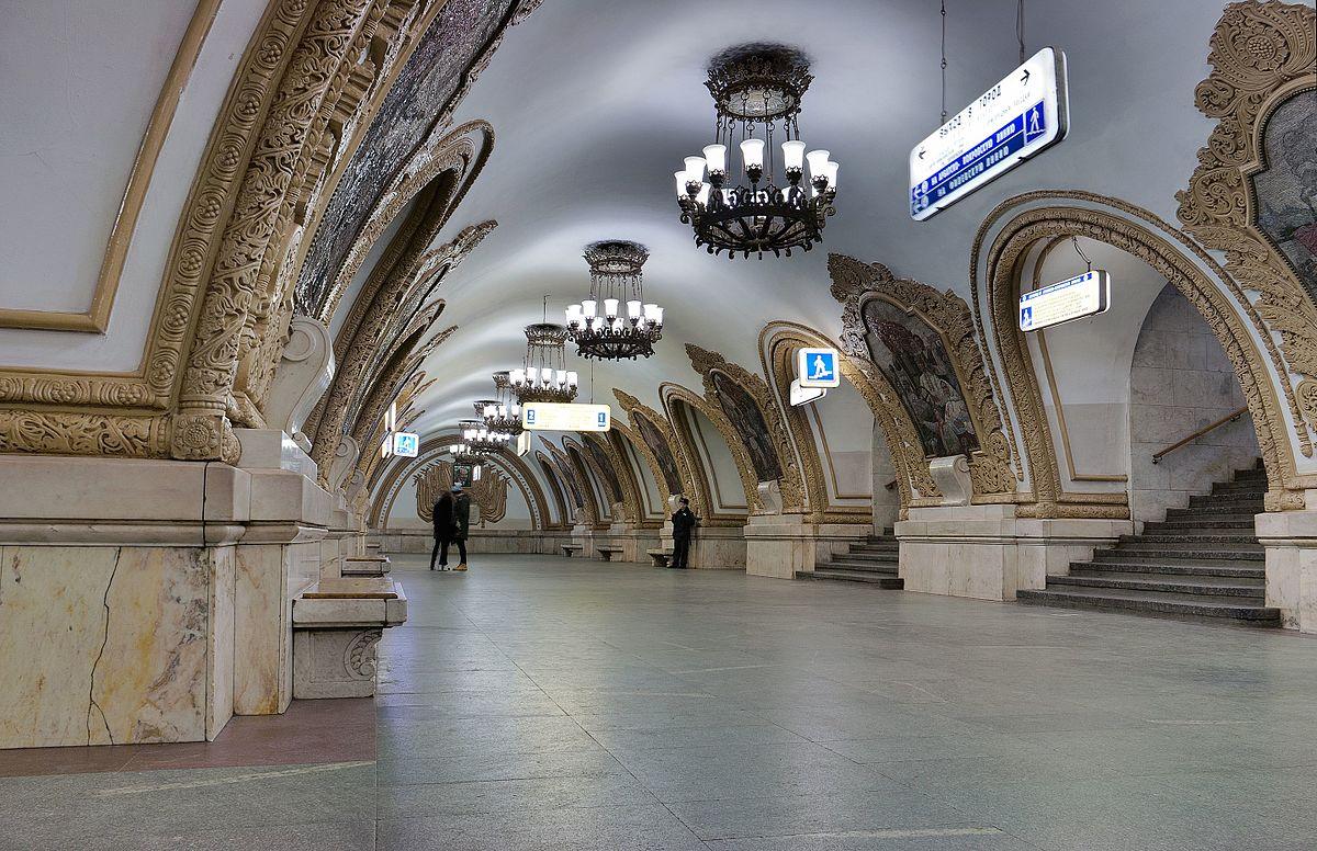 How to get to metro Kievskaya 55