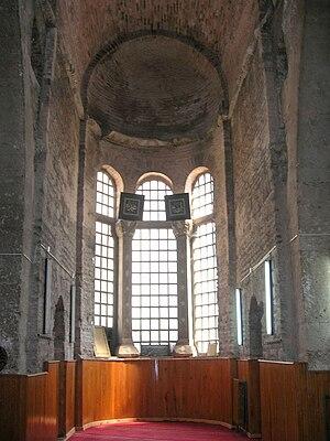 Fenari Isa Mosque - Interior of the North Church.