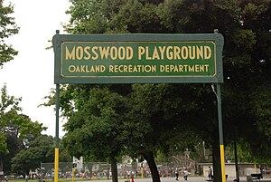 Mosswood Park - Image: Mosswoodpark