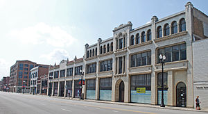 Motor Row District - Image: Motor Row Historic District B Chicago IL