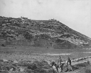 Mount Carmel - A view of Mount Carmel in 1894.