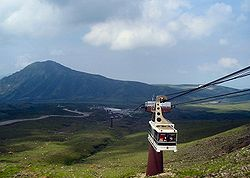 Mount Aso and Cable car