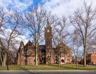 Seven Sisters (colleges) - Image: Mount Holyoke College Mary Lyon Hall