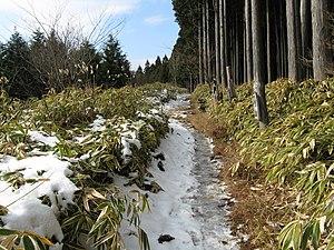 Mount Naka Katsuragi - Image: Mount Nakakaturagi 1