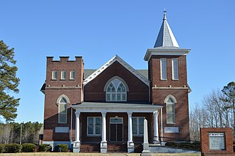 Mt. Sinai Baptist Church (Suffolk, Virginia) - Front of the church