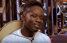 A capture from Mr Eazi's 2016 video interview with NdaniTV
