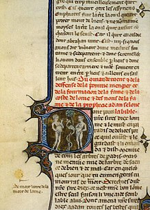 Bible Translations In The Middle Ages Wikipedia