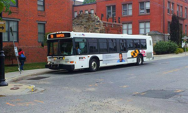 Baltimore MTA Buses c 1980 - YouTube
