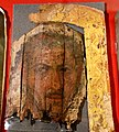 Mummy portrait of a man from Fayum, Hawara cemetery. Second century AD. Petrie Museum.jpg