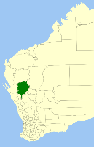 Shire of Murchison - Location in Western Australia