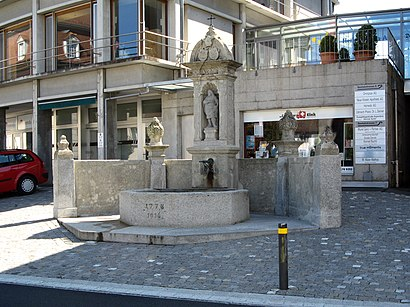 How to get to Leontiusbrunnen with public transit - About the place