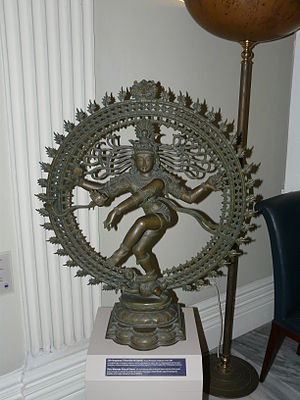 Indian Council for Cultural Relations - Copy of the Hindu figurine of Shiva Nataraja, donation to the Museum of Asian Art of Corfu, Greece