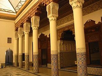 Marrakech Museum - Marrakech Museum's interior.