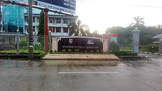 Myanmar Football Federation - Image: Myanmar Football Federation