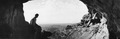 Mynningen av grotta i Fylleri. Kythrea - SMVK - C06072.tif