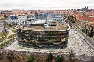 Czech National Library of Technology - Image: Národní technická knihovna NTK