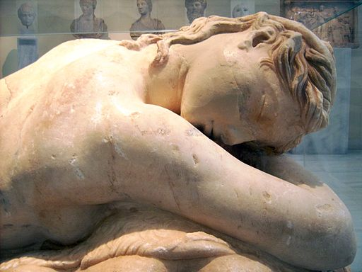 NAMA - Statue of a sleeping Maenad 09
