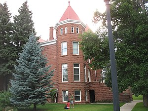 Flagstaff, Arizona - Northern Arizona University's Old Main building