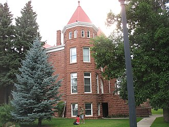 Northern Arizona University - NAU's Old Main building located in the northernmost section of campus