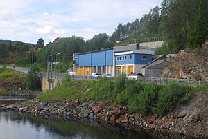 Nord-Trøndelag County Municipality - A county-owned power station in Røyrvik
