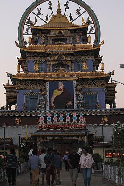 File:Namdroling Monastery golden temple.jpg