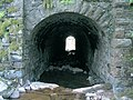 Nant Byfre tunnel under rail bridge - geograph.org.uk - 416640.jpg