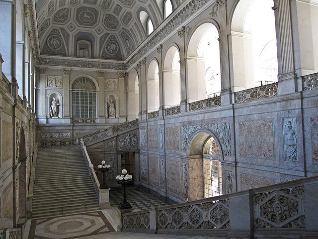 Palazzo Reale à Naples. Photo de Armando Mancini.
