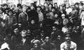Nariman Narimanov with M. Yefremov in Aghdam (1920).png