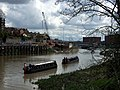Narrow boats in Avon Gorge - geograph.org.uk - 768458.jpg