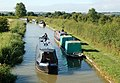 Narrowboats east of Willoughby - geograph.org.uk - 1393088.jpg
