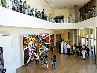 National Center for Civil and Human Rights - Main hall of the building.