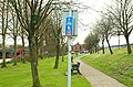 National Cycle Network sign, Lisburn (1) - geograph.org.uk - 1243715.jpg
