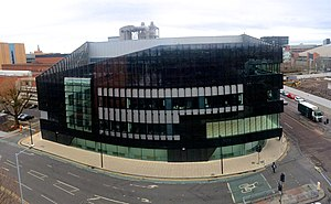 National Graphene Institute - The building in 2016