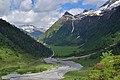 Nationalpark Hohe Tauern - Gletscherweg Innergschlöß - 56 - Vorderer und Hinterer Plattenkogel - Viltragen- Schlaten- und Gschlössbach.jpg