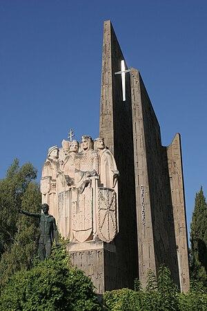 Battle of Las Navas de Tolosa - Monument at Navas De Tolosa