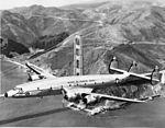 Navy MATS Lockheed C-121C Super Constellation (R7VS Bn 128438) from Moffett Naval Air Station CA.jpg