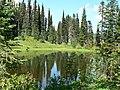 Near Faraway Rock, above Reflection Lakes. (62de8225670148159307b9496af0611e).JPG
