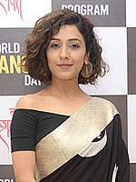 Neeti Mohan Neeti Mohan attends Shakti Mohan's Nritya Shakti celebrations for World Dance Day (04) (cropped).jpg