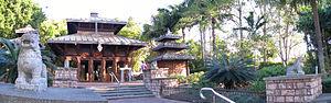Nepal Peace Pagoda - The Brisbane Nepal Peace Pagoda at South Bank Parklands.