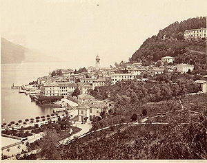 Bellagio, Lombardy - Bellagio in late 19th century.